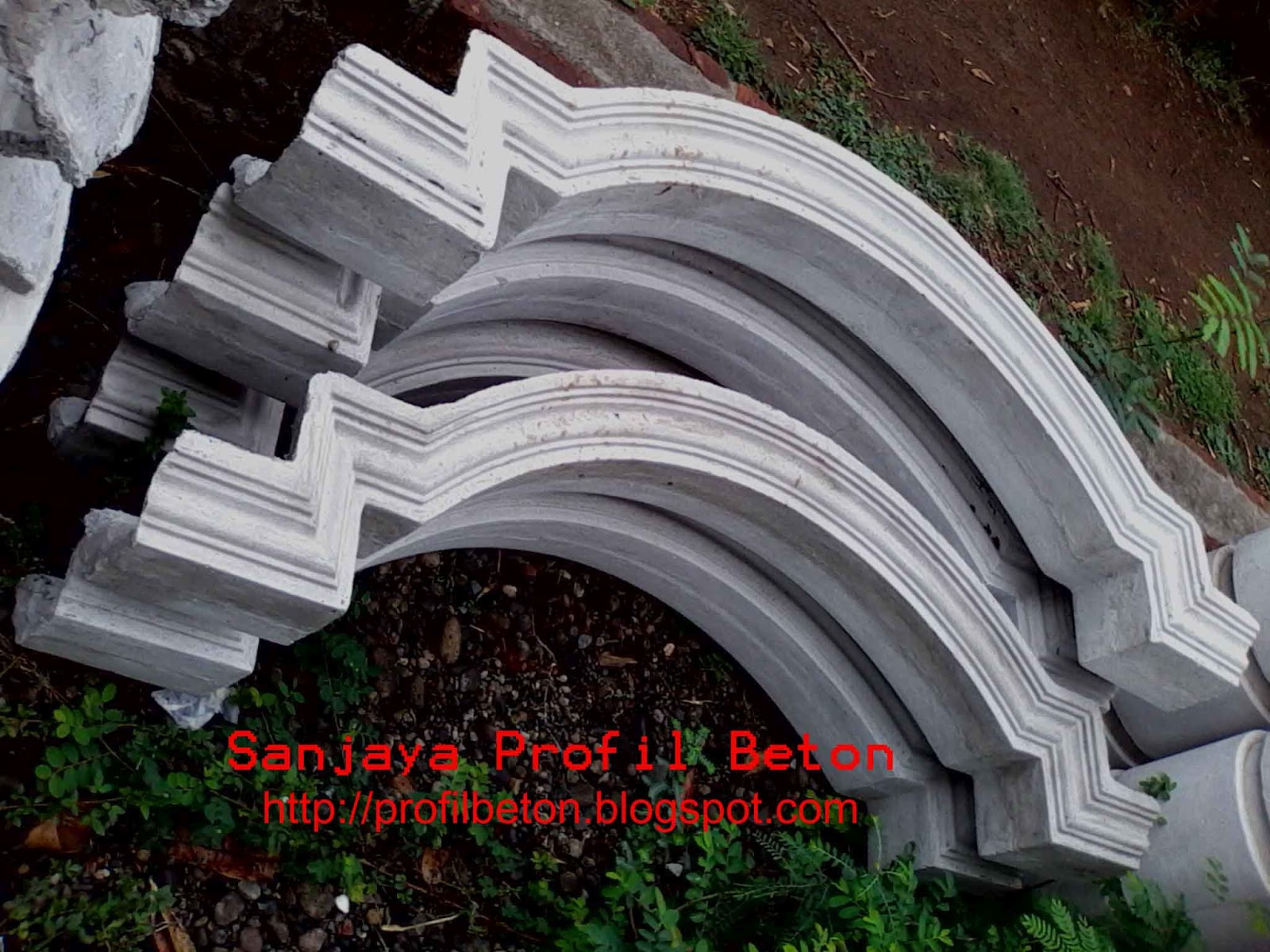 sanjaya profil beton profil plengkung. Black Bedroom Furniture Sets. Home Design Ideas