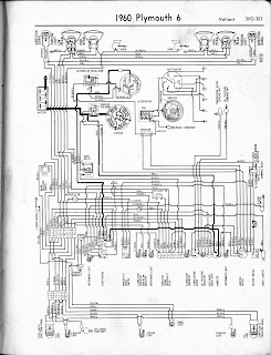 Free Auto Wiring Diagram: 1960 Plymouth Valiant Wiring Diagram