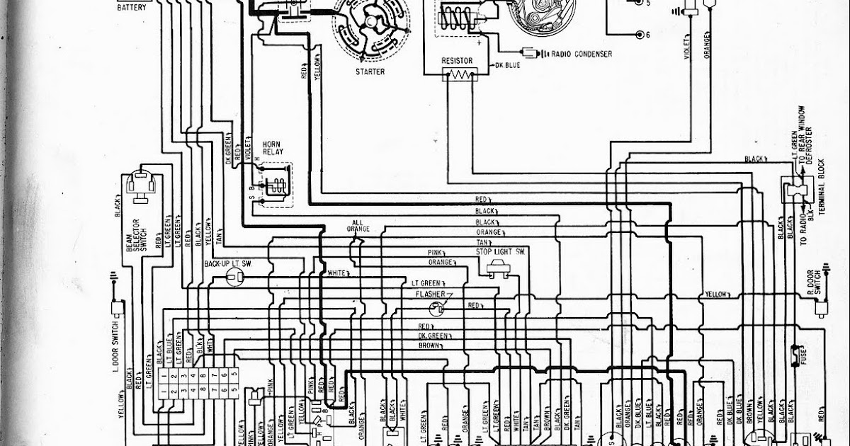 Free Auto Wiring Diagram: 1960 Plymouth Valiant Wiring Diagram