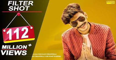 Filter shot - Mp3 Song Download | Gulzaar Chhaniwala