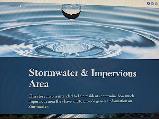 Stormwater Ad hoc Committee Recap - Sep 9, 2020 - find your impervious area