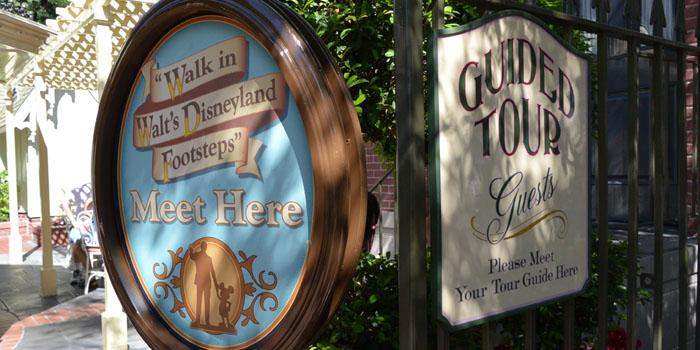 Walk in Walt's Disneyland Footsteps
