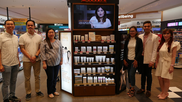 launching erha at watsons