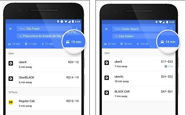 Wow! Ternyata Google Maps Bisa Untuk Pesan Taksi