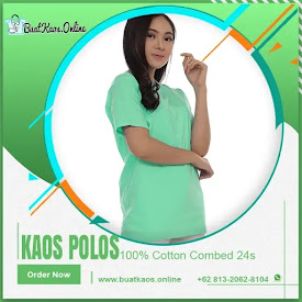 Kaos Hijau Tosca Muda Polos Cotton Combed 24s <price>Rp35.000</price> <code>Combed24s</code>