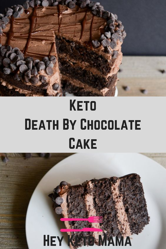 KETO DEATH BY CHOCOLATE CAKE