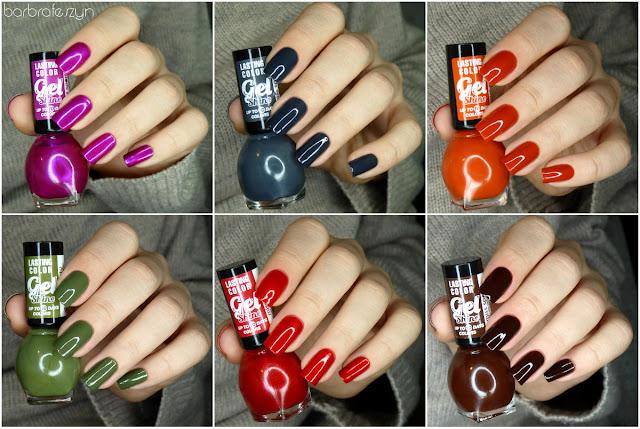 jesienna kolekcja lakierów do paznokci
