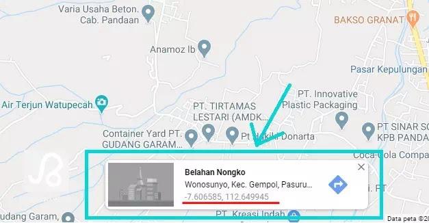 Cara Mencari Koordinat Lintang Dan Bujur Di Google Maps Brankaspedia Blog Ulasan Teknologi