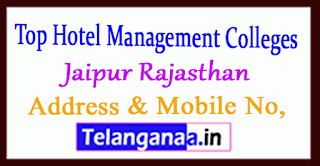 Top Hotel Management Colleges in Jaipur Rajasthan