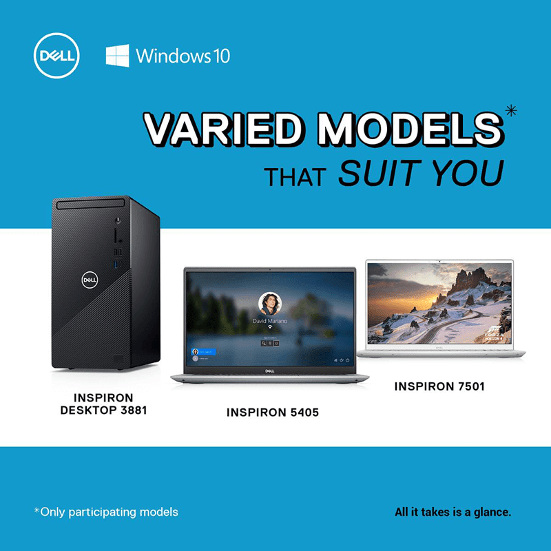 Dell units that are included in this promo