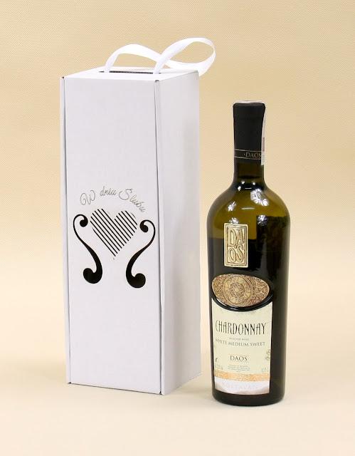 Pudełko na wino na wesele