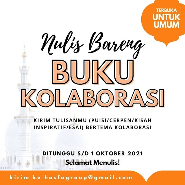 Event Menulis Buku Kolaborasi
