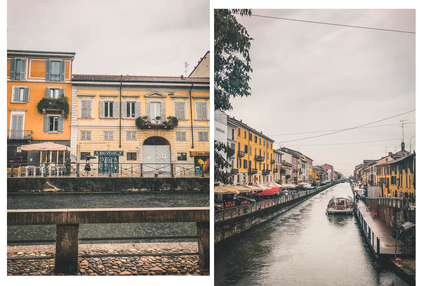 quartier Navigli Milan