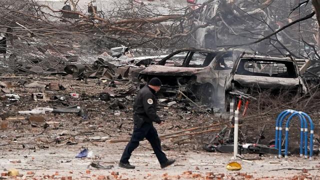اخر تطورات التحقيق فى حادث ناشفيل بولاية تينيسي تفجير انتحاري