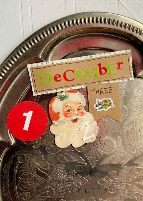 Daily Advent Christmas Calendar - easy to make