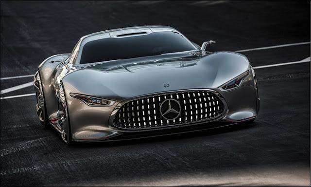 Mercedes Vision Gran Turismo phiên bản sản suất có giá 1.5 triệu USD