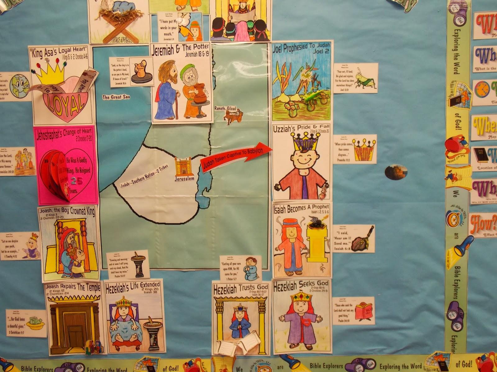 Kids Craft For Babylon Captivity