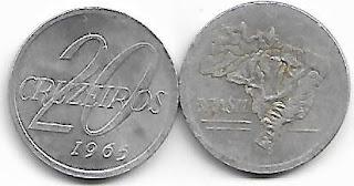 20 Cruzeiros, 1965