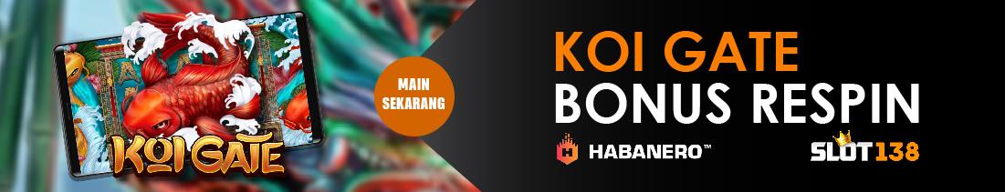 Bonus Slot Online Koi Gate