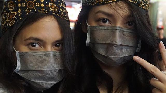 wajib pakai masker untuk cegah penularan virus corona