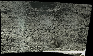 Imagen en HD terreno lunar