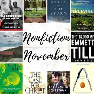 Top Ten Tuesday: What I'm Reading For Nonfiction November