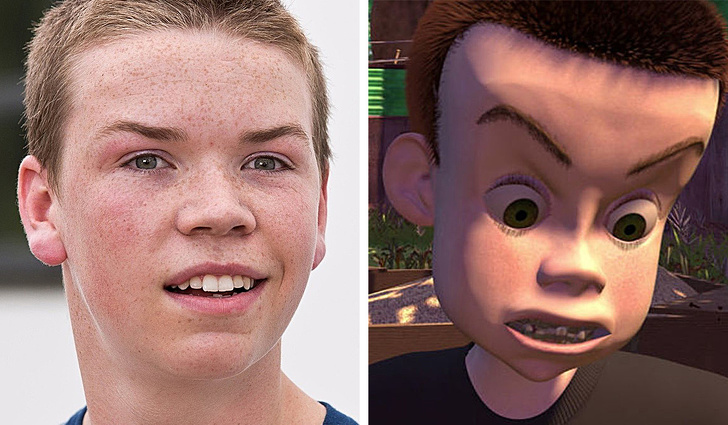 The protagonist of Toy Story is a nearly complete copy of Will Poulter.