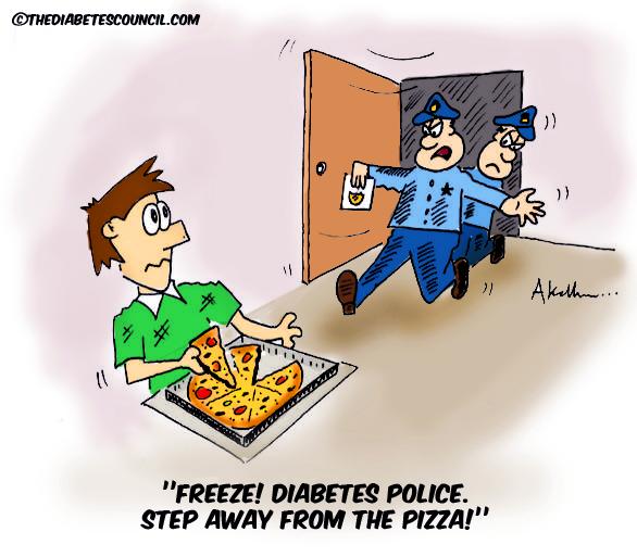 Policías de la diabetes ¿eres mamá, papá o policía?