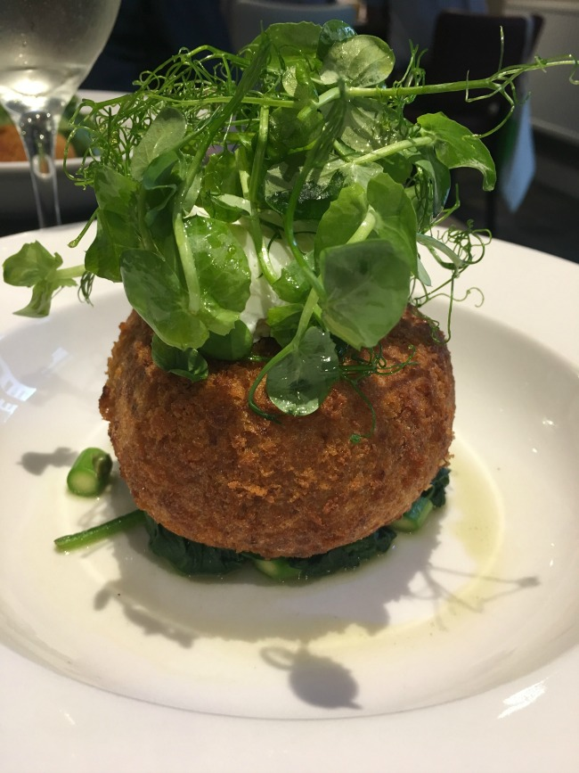 Jolyons-Number-10-Cathedral-road-cardiff-pre-theatre-supper-review-fish-cake
