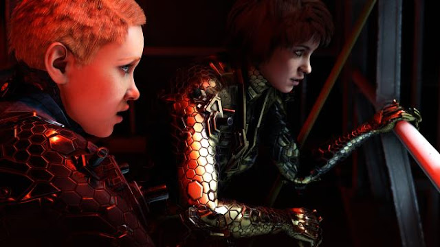 Wolfenstein Youngblood is a first-person shooter, a continuation of a series of games telling the legendary fighter against the Nazis and their power, Bi Jay Blaskowice.