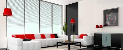 other warm white living room interior design