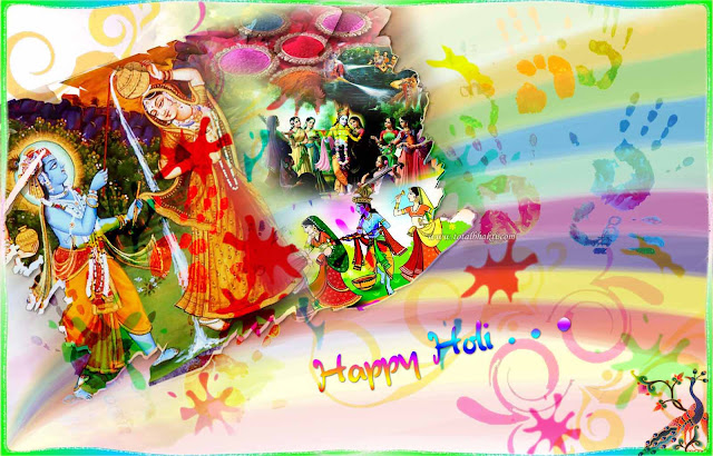 Happy Holi Facebook whatsapp Status 2017