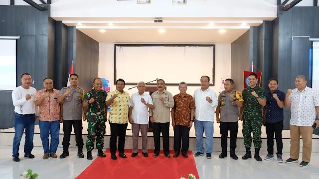 Kapolres Tanjung Balai Menghadiri Kegiatan Pembahasan Naskah Kajian Akademis Normalisasi Alur Sungai Asahan dan Sungai Silau
