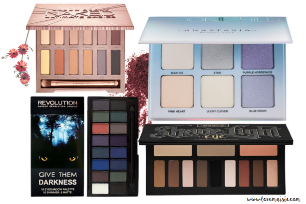 Current palette Wishlist | October | Love, Maisie | Featuring UD, Anastasia Beverly Hills, Make Up Revolution and Kat Von D