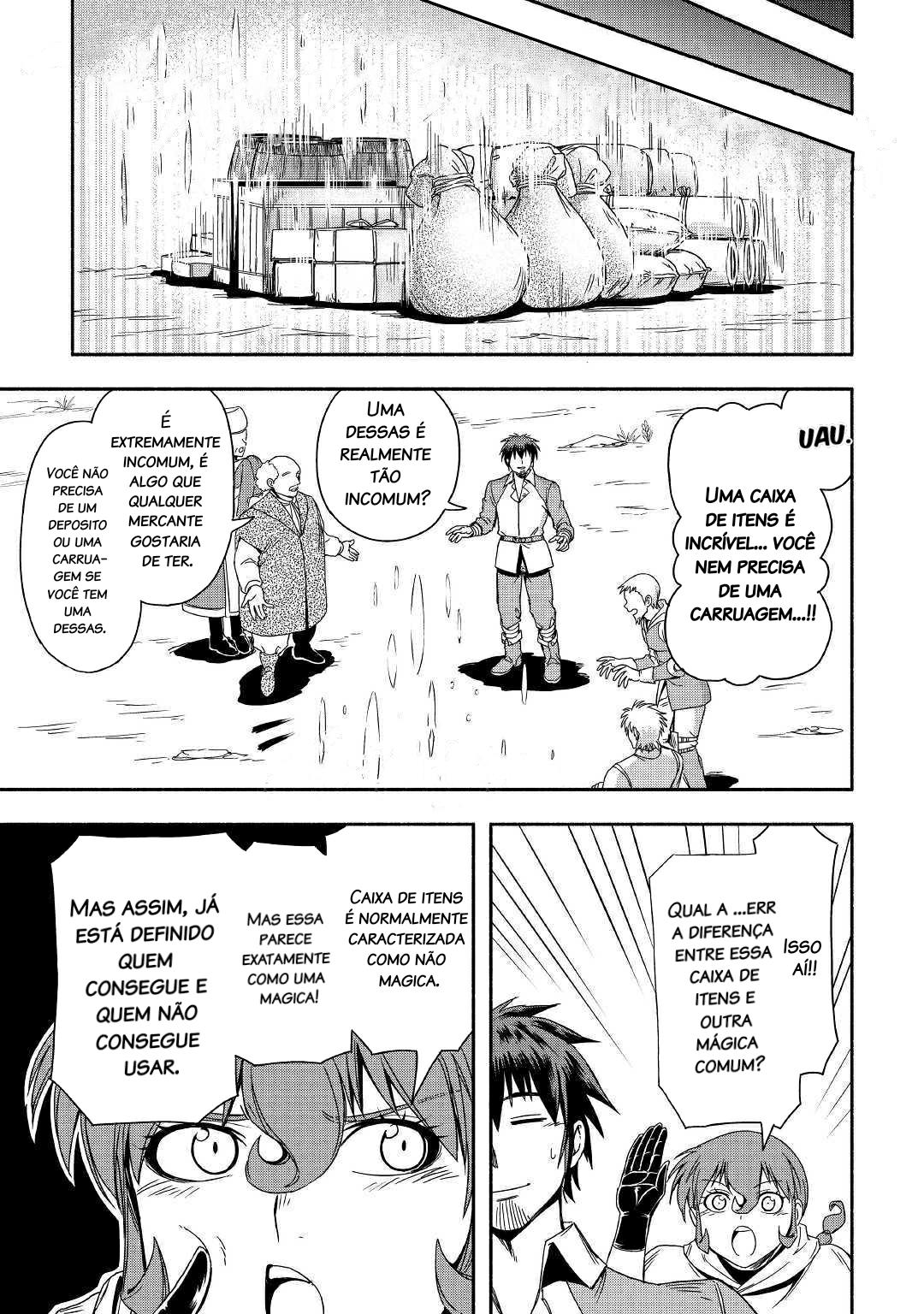 Isekai ni Tobasareta Ossan wa Doko Iku Mangá Capítulo 23