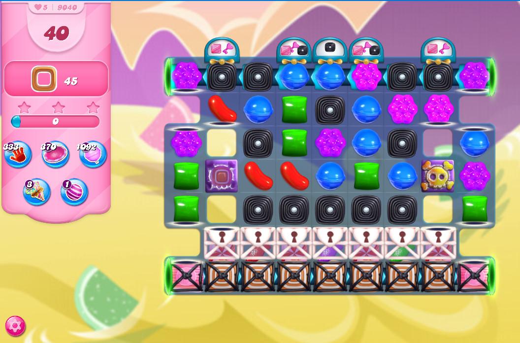 Candy Crush Saga level 9040