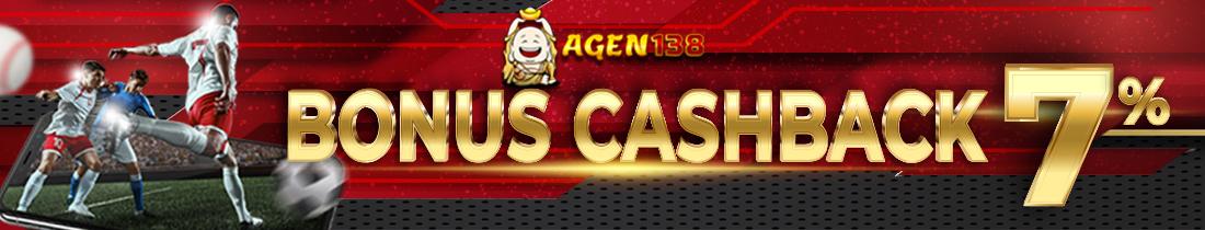 Bonus Cashback 7%