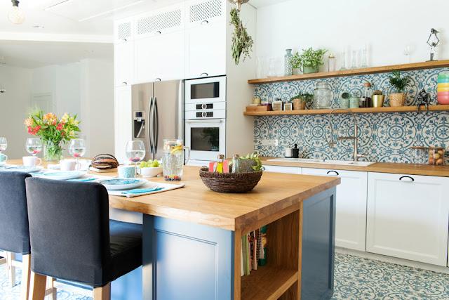 Bohemian Kitchen Design, Unique Kitchen Room Appearance
