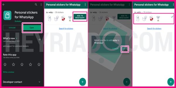 Cara Memindahkan Stiker Telegram ke WhatsAp