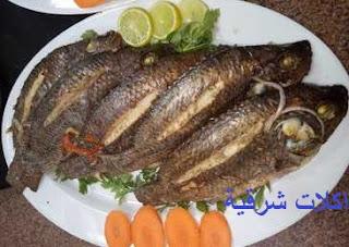 طريقة عمل السمك  البلطي بالخلطة الإسكندراني في الفرن