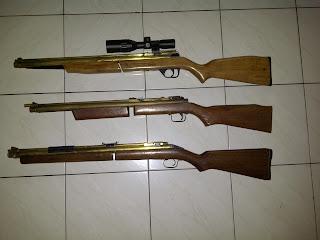 senapan angin benjamin 347, senapan antik, senapan angin 347