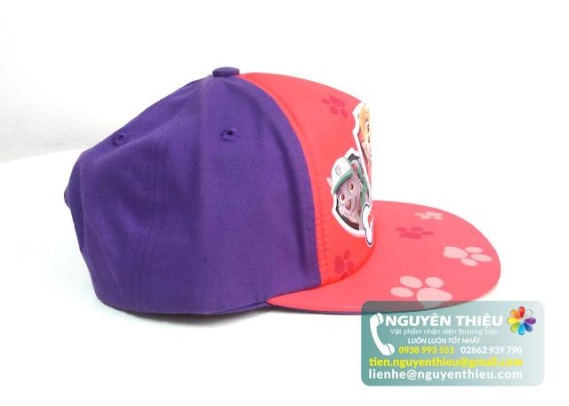 May nón kết trẻ em giá rẻ, may nón hiphop trẻ em giá rẻ