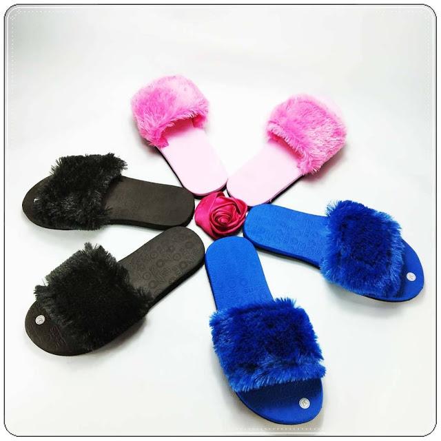 KABAR BAIK UNTUKMU !!! HARI INI KAMU BISA TAMPIL LEBIH CANTIK- GSJ- Pabrik Sandal GSJ- Sandal Teplek slop bulu gsj