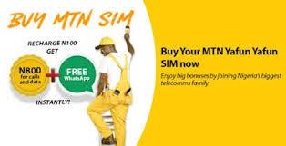 Get 3GB For 1000 Naira And More with MTN YafunYafun SIM