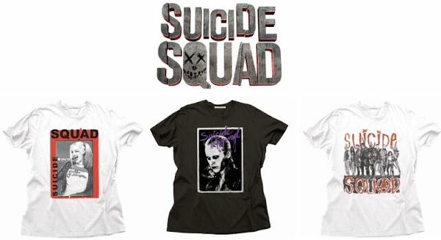 Suicide Squad t-shirts