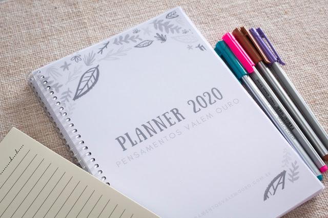 [Download] Planner Literário para Bloggers 2020