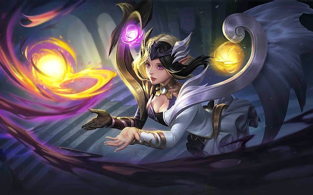 Lunox Twilight Goddess The Enlighted One Heroes Mage of Skins Mobile Legends Wallpaper HD for PC