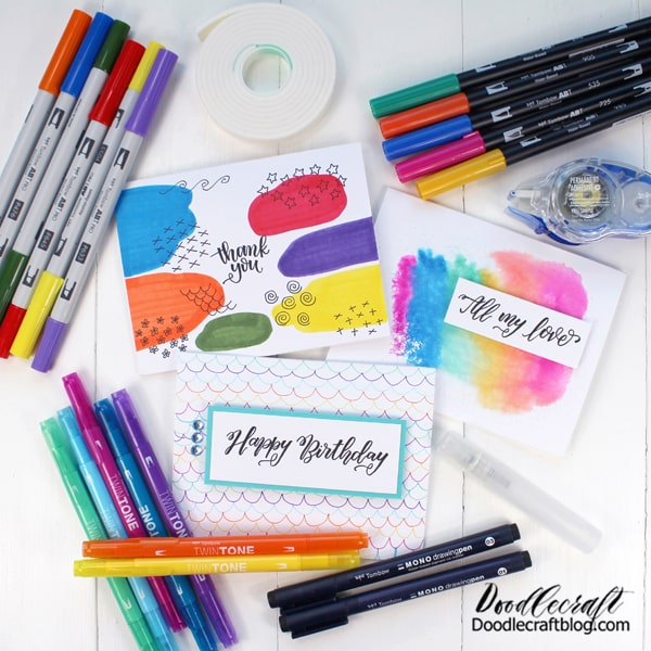 I began my adventure in blogging and crafting by making handmade cards. It's the perfect craft to make and send to friends to bring a smile to their face. Make a few to keep on hand and use when the opportunity arises. Here's everything you need to know about getting started making handmade cards.