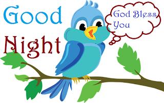 good night beautiful birds gif