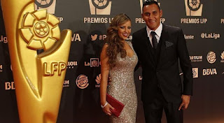 Keylor Navas Wife Andrea Salas